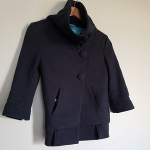 WESC Cotton cropped jacket size Medium